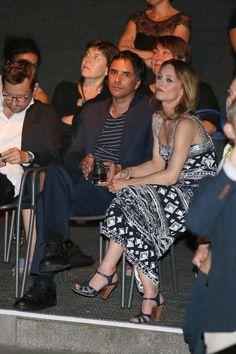 Vanessa Paradis  et Samuel Benchetrit - 'Chien', Locarno Film Festival - August 7, 2017 in Locarno, Switzerland.