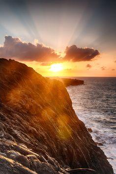 Hawaii Lava Rock Sunrise