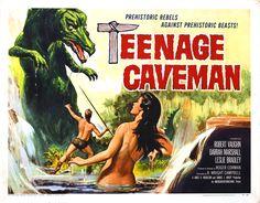 1958 adventure movies   Teenage Caveman (1958, USA)