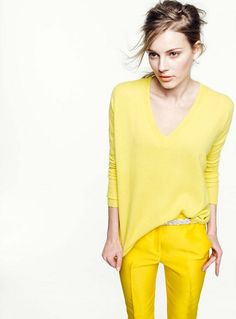 sunny yellow by the style files