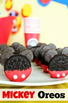 Mickey Mouse Oreo Cookie Desserts!