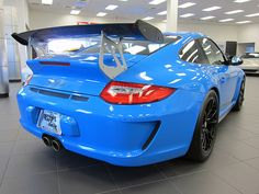 Porsche GT3 RS 3.8 MK II Mexico Blue by Jason Phillips Design, via Flickr