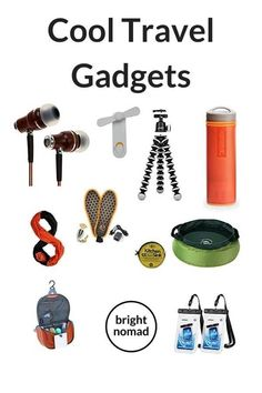 A selection of the best travel gadgets for travel. All the cool travel gadgets for backpackers that will make your trip easier, safer and more comfortable. Packing Tips For Travel, Travel Advice, Travel Essentials, Budget Travel, Travelling Tips, Packing Lists, Vacation Travel, Cruise Vacation, Vacation Destinations