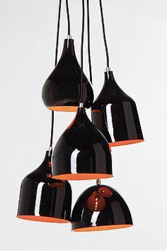 Kare Scandinavian Pendant Light in Black