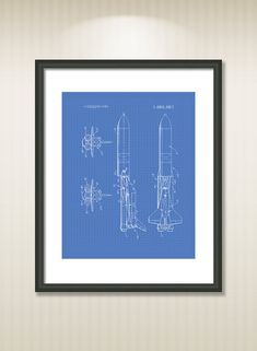 This reproduction was digitally restored and in some cases altered to remove defects or unwanted artifacts present in the original #patent document.  Buy more and save! Buy ... #patentart #art #print #gift #digital #download #instant #wall #printable #nasa #astronaut