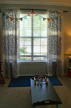 Sewing Projects, Craft Projects, Craft Ideas, Diy Curtains, Simple House, Ikea Hack, Girls Bedroom, Pottery Barn, Living Room Decor