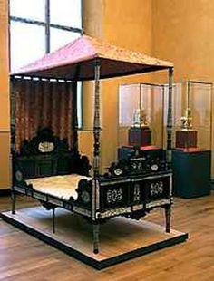 German Travel Bed 1580
