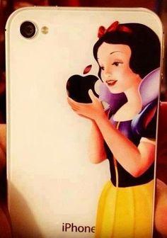Disney Snow White Apple iphone case via www.Facebook.com/Fairyland.Noor