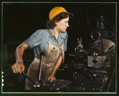Incredibly powerful images. // Photos of women in the labor force between 1930 and 1950.