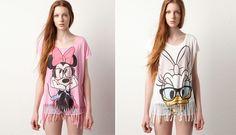 Camisetas de Minnie y Daisy en Pull & Bear