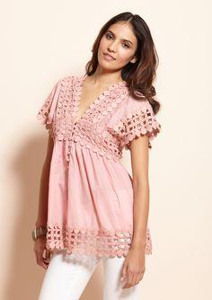 light pink tunic