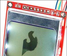 Nokia 5110 LCD Via Lady Ada Arduino Lcd, Little My, Coding, Lady, Programming