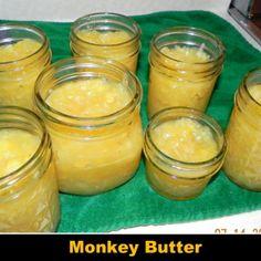 Monkey Butter (coconut, banana & pineapple jam)