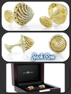 Jack Row Design - Luxury Cufflinks   http://www.luxuryproducts.pl/p,spinki_do_mankietow_architect_arc02_jack_row,38103,629.html