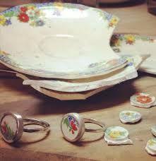 תוצאת תמונה עבור porcelain and silver jewellery