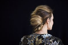 The modern french twist. #Hair by Be.NYLA