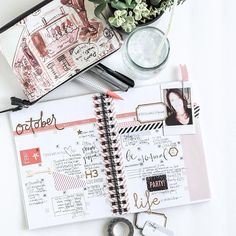 OK...sharing a piece of my heart here. Using the HeidiSwapp Instax 'Make It Happen' Planner Kit I decided to do a bit of a brain dump and make it an #intentionalliving planner. I gathered a lot of the ideas and words that came across my vision this past month and attempted to put them in one space. No easy task actually. (There's more still) To see all these quotes and philosophies and inspirational words like this right here in one place is in and of itself a motivating factor. I have up…
