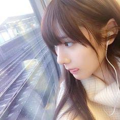 いいね!1,803件、コメント14件 ― 緑川 百々子 momoco midorikawaさん(@_momowaltz_)のInstagramアカウント: 「新幹線」 Art Of Beauty, Cute Beauty, Hair Beauty, Weird Fashion, Kawaii Girl, Beautiful Asian Girls, Woman Face, Japanese Girl, Bellisima