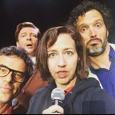 Mel got a selfie at her meet and greet concert Jemaine Clement, Flight Of The Conchords, Taika Waititi, Screenwriting, Comedians, New Zealand, Selfie, Actors, Couple Photos