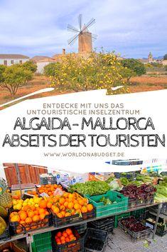 Algaida zählt für uns zu den schönsten #Dörfern auf #Mallorca und ist noch herrlich ursprünglich. Die Stadt auf der #Balearen Insel bietet neben einem traditionellen #Markt verträumte Gassen und alte #Windmühlen, die so typisch für Mallorca sind. Und das beste: ganz ohne andere Touris! Entdecke in unserem #Travel #Guide Algaida und weitere Traumdörfer auf Mallorca. Jetzt lesen!
