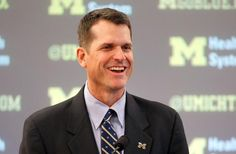 Jim Harbaugh has officially been introduced as the University of Michigan new head football coach.