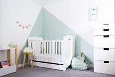 The cool and refined nursery from Amelia  #amelia #nursery #refined
