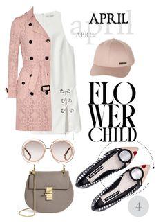 """April Showers 4 - Flower"" by martinambf on Polyvore featuring moda, Chloé, Rebecca Minkoff, Alice + Olivia, Billabong e Burberry"