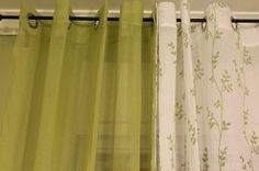 Curtain Panel  soft beautiful  curtains by GreenRagHut on Etsy, $80.00