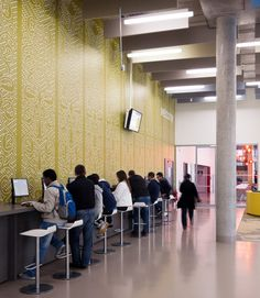 Pioneering new social learning and support facilities for Coventry University. Winner of the Education Estates Innovation in Teaching and Learning Award 2014
