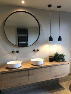 Project Nijkerk | Badkamer Factory Bathroom Design Luxury, Modern Bathroom Design, Home Interior Design, Dream Bathrooms, Beautiful Bathrooms, Laundry In Bathroom, Small Bathroom, Bathroom Design Inspiration, Design Ideas