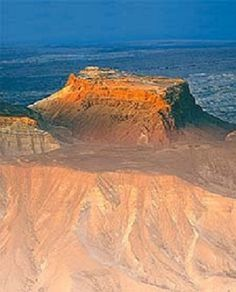 Masada During Sunrise