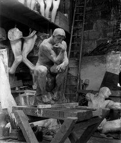 Auguste Rodin's studio, - -You can find Auguste rodin and more on our website.Auguste Rodin's studio, - - Auguste Rodin, Pierre Auguste Renoir, Camille Claudel, Richard Serra, Famous Artists, Great Artists, Art Du Cirque, Antoine Bourdelle, French Sculptor