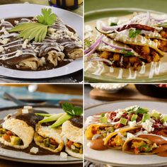 Tostadas, Tacos, Mexican Food Recipes, Ethnic Recipes, Enchiladas, Chips, Lunch, Dishes, Cooking