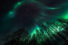 northern lights night sky