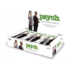 If you can find any of the Psych trading cards - especially Lassiter's, obviously - I'd be much obligted.