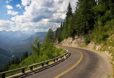 highway to the sun in Montana