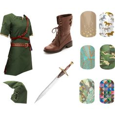 """""""Jamberry Name the Character game"""" by julieanderson-i on Polyvore Link from Zelda"""