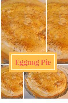 Eggnog Pie - http://www.1lds.com/194775/eggnog-pie