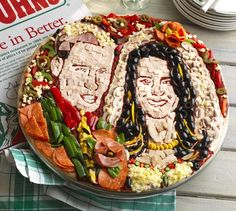 Papa John's has commissioned a portrait pizza of Prince William and Kate Middleton to celebrate their marriage. Srsly.