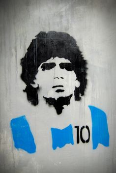 Diego Maradona Football Legend Silhouette Retro Glossy Art Print Inches Napoli Argentina S Maradona Tattoo, Diego Armando, Graffiti, Argentina Soccer, Football Art, Football Tattoo, Activities For Boys, Sport Icon, Stencil Art