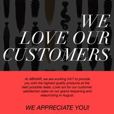 We Love our customers  We appreciate  You ! http://www.abhair.com/buy-two-get-one-free