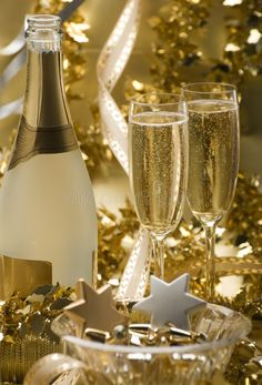 Photo about Two glasses of champagne for christmas close up. Image of sparkle, party, crystal - 3673894 Happy New Year Fireworks, Happy New Year 2019, Champagne Party, Champagne Bottles, Happy New Year Animation, Rose Gold Wallpaper, New Year's Cake, New Year Pictures, Celebration Background