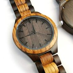 Great Engraved Zebrawood Ebony Wooden Watch Gifts For Dad Great Gifts For Dad, Perfect Gift For Dad, Love Gifts, Gifts For Him, Boyfriend Anniversary Gifts, Boyfriend Gifts, Wooden Watches For Men, Birthday Gift For Him, Beautiful Watches