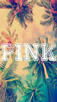 Victoria secret pink wallpaper♥ (I made feel free to pin)