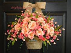 Hey, I found this really awesome Etsy listing at https://www.etsy.com/listing/217645442/spring-wreath-mothers-day-wreath-summer