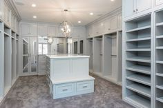 Master closet island with bench built in. Could be replaced with a settee. Master Closet Design, Walk In Closet Design, Master Bedroom Closet, Closet Designs, Master Closet Layout, Inside Celebrity Homes, Celebrity Houses, Celebrity Closets, Celebrity Style
