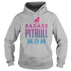 Awesome Tee Pitbull Mom Shirts & Tees