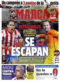 'Se escapan'   La portada del 26 de noviembre de 2012