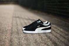 @puma Sportstyle Suede Black- White #sneakers #kicks