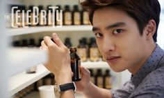 EXO Kyungsoo featured on Celebrity Magazine